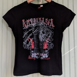 Japanese Band T-shirt H&M Divided size M EUC